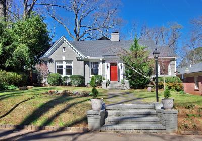 Druid Hills Single Family Home For Sale: 1330 Emory Road NE