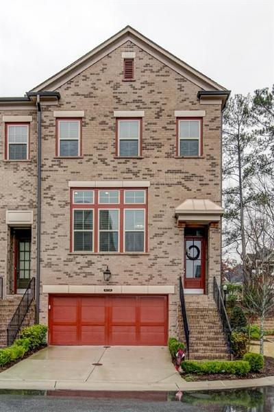 Dunwoody Condo/Townhouse For Sale: 4774 Laurel Walk