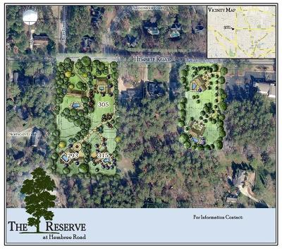 Roswell Residential Lots & Land For Sale: 305 Hembree Road