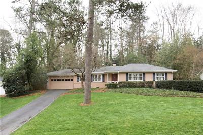 Sandy Springs Residential Lots & Land For Sale: 68 Pine Lake Drive