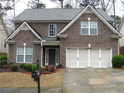 Snellville Single Family Home For Sale: 4253 Pond Edge Road