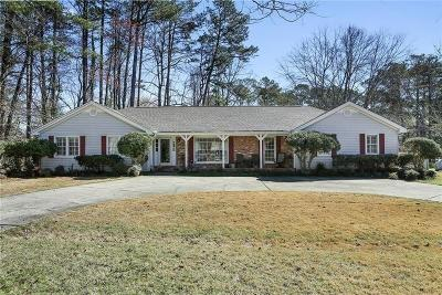 Marietta GA Single Family Home For Sale: $289,000