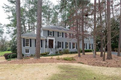 Single Family Home For Sale: 3150 Brandy Station SE