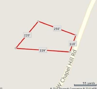 Douglas County Residential Lots & Land For Sale: Chapel Hill Road W