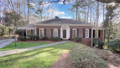 Sandy Springs Single Family Home For Sale: 1160 Winding Creek Trail