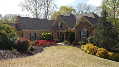 Dawsonville Single Family Home For Sale: 7250 Heron Lane