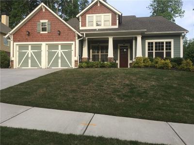 Acworth Single Family Home For Sale: 2010 Hickory Grove Road
