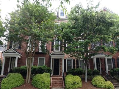 Roswell  Condo/Townhouse For Sale: 4305 Kendall Way