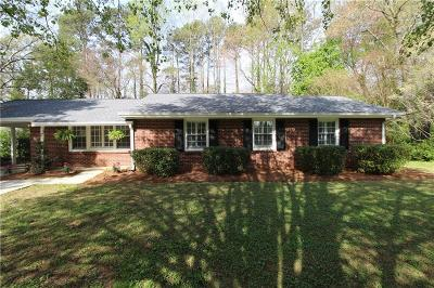Sandy Springs Single Family Home For Sale: 6830 Sunny Brook Lane