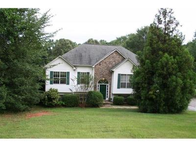 Loganville Single Family Home For Sale: 5280 Ozora Church Road