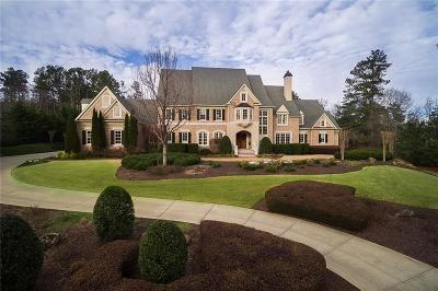 Roswell GA Single Family Home For Sale: $2,850,000
