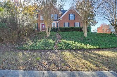 Acworth Single Family Home For Sale: 6051 Kenbrook Circle NW