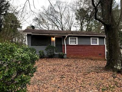 Atlanta Single Family Home For Sale: 2579 Abner Place NW