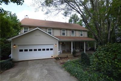 Lawrenceville Single Family Home For Sale: 2191 Deer Oaks Trail