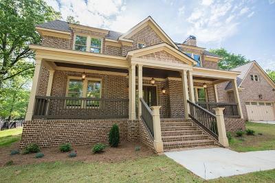 Atlanta Single Family Home For Sale: 494 Quillian Avenue SE