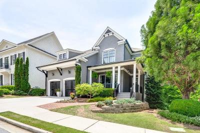 Alpharetta Single Family Home For Sale: 5015 Mill Creek Avenue