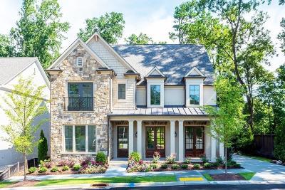 Atlanta Single Family Home For Sale: 290 Chastain Park Drive