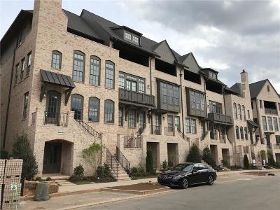 Sandy Springs GA Condo/Townhouse For Sale: $895,000