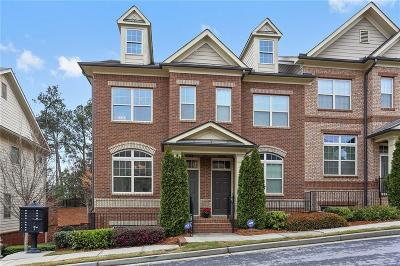 Sandy Springs Condo/Townhouse For Sale: 7410 Glisten Avenue #7410