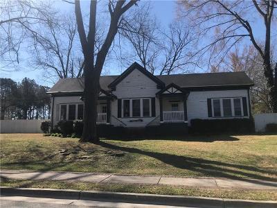 Powder Springs Single Family Home For Sale: 4321 Atlanta Street