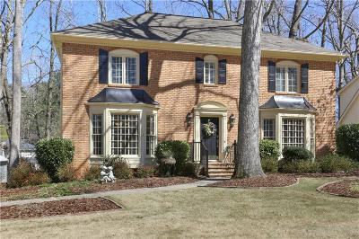 Peachtree Corners Single Family Home For Sale: 6348 Station Mill Drive