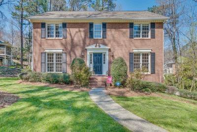 Cobb County Single Family Home For Sale: 1553 E Bank Drive
