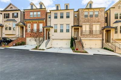 Cobb County Condo/Townhouse For Sale: 3521 Broughton Square #14
