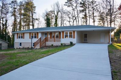 Roswell Single Family Home For Sale: 4710 Surrey Road