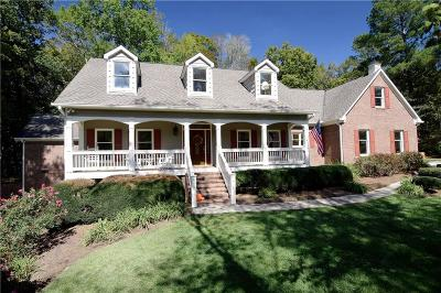 Acworth Single Family Home For Sale: 2721 County Line Road NW