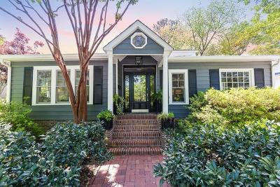 Single Family Home For Sale: 125 Montgomery Ferry Drive NE