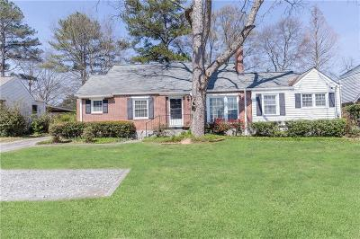 Decatur GA Single Family Home For Sale: $334,900