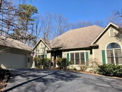 Big Canoe Single Family Home For Sale: 314 Red Coat Pass