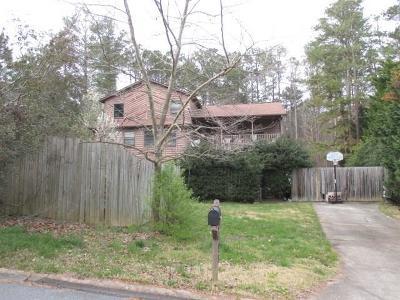 Acworth Single Family Home For Sale: 3498 Hill Lane