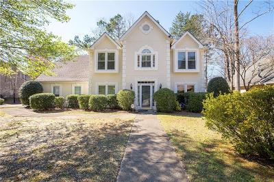 Roswell  Single Family Home For Sale: 3080 Fenwood Trail