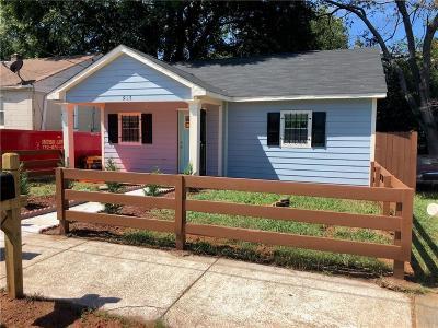 Atlanta GA Single Family Home For Sale: $90,000