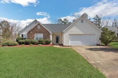 White GA Single Family Home For Sale: $230,000
