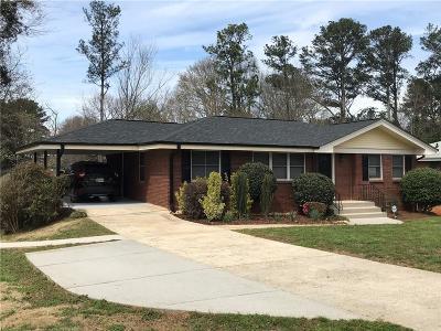 Smyrna Single Family Home For Sale: 3524 Westbrook Drive SE
