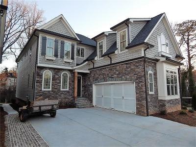 Single Family Home For Sale: 1062 Bank Street SE