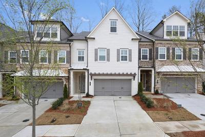 Alpharetta Condo/Townhouse For Sale: 97 Calder Drive