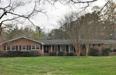 Powder Springs Single Family Home For Sale: 5153 Cherry Lane