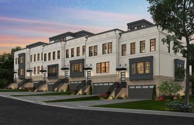 Smyrna Condo/Townhouse For Sale: 2150 Hinton Drive #43