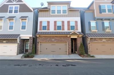 Smyrna Condo/Townhouse For Sale: 450 Cranleigh Ridge SE