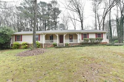 Snellville Single Family Home For Sale: 1316 Raintree Drive