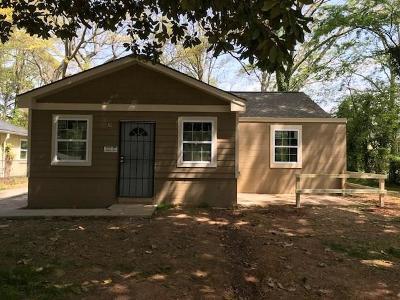 Atlanta GA Single Family Home For Sale: $149,900