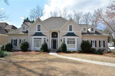 Johns Creek Single Family Home For Sale: 1065 Vintage Club Drive