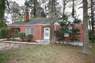 Decatur Single Family Home For Sale: 2301 N Decatur Road