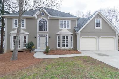 Acworth Single Family Home For Sale: 578 Delphinium Boulevard NW