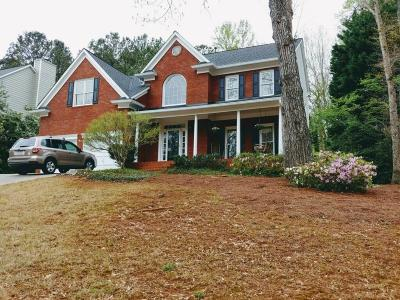 Lawrenceville Single Family Home For Sale: 2515 Woodbrook Court