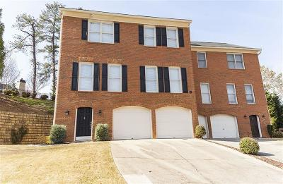 Sandy Springs Condo/Townhouse For Sale: 300 Halah Circle