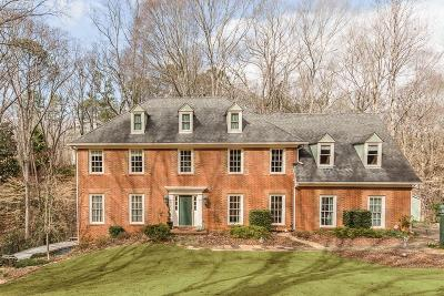 Sandy Springs Single Family Home For Sale: 340 Yellowroot Lane